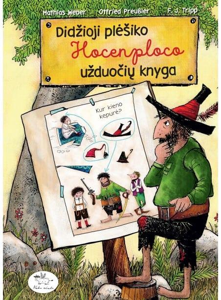 Didžioji plėšiko Hocenploco užduočių knyga