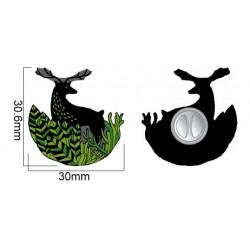 MZ4. Metalinis ženkliukas Būk kiečiausias žvėris miške