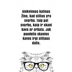 Puodelis Stilingi katinai