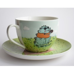 Kapučino kavos puodelis...