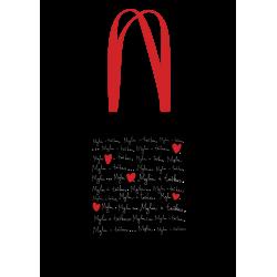 """Drobinis maišelis """"Myliu ir..."""