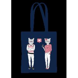 """Drobinis maišelis """"Katinų..."""