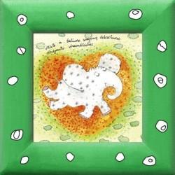 AK100D/196 - Meilė ir žaliuose svajonių debesėliuose skriejantis drambliukas
