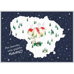 AMV 272 Kalėdinis atvirlaiškis