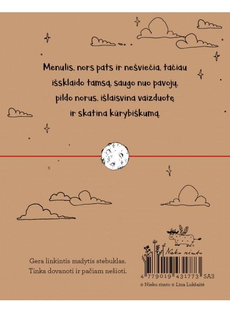 """SA3. Sėkmės apyrankė-talismanas """"Mėnulis"""""""