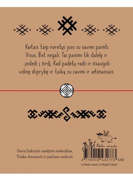 """SA8. Sėkmės apyrankė-talismanas """"Laimės šulinys"""""""