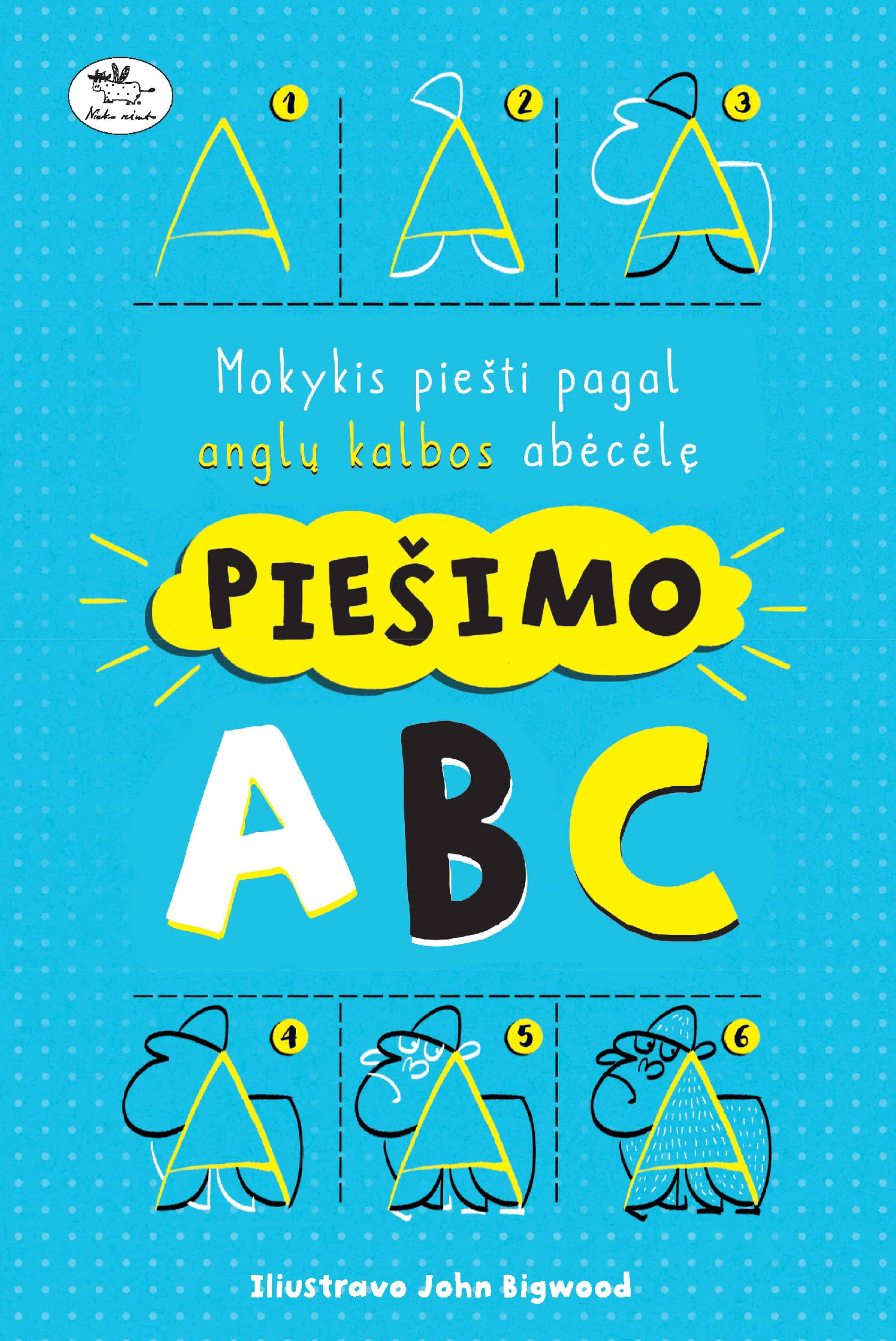 Piešimo ABC