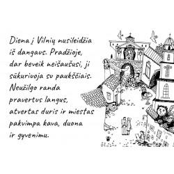 """Puodelis """"Vilnius ir sparnuota diena jame"""""""