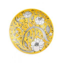 """Porcelianinė lėkštelė desertams """"Saulėtas laikas supa svajonę"""""""