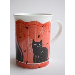 Puodelis Juodos katės