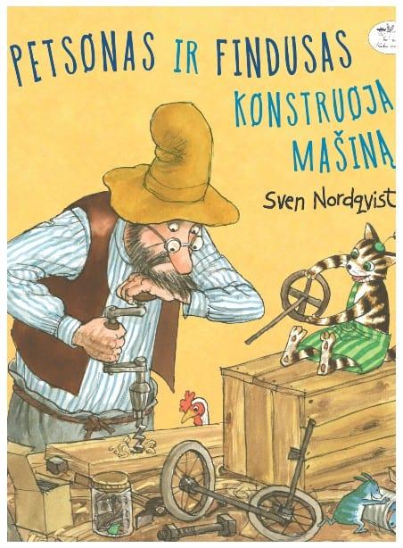 Petsonas ir Findusas konstruoja mašiną