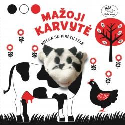 Mažoji karvytė. Knyga su pirštų lėle