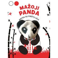 Mažoji panda. Knyga su pirštų lėle