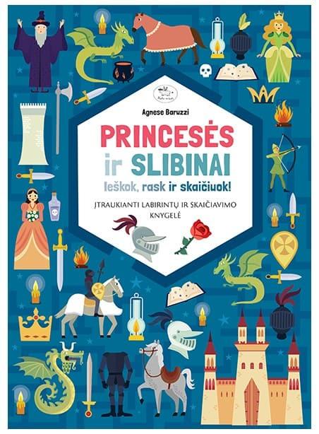 Princesės ir slibinai: Ieškok, rask ir skaičiuok!