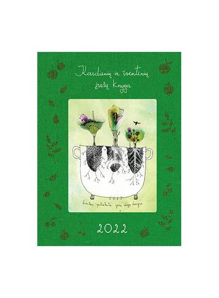 DK2 Kasdienių ir šventinių įrašų knyga 2022