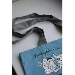 """Drobinis maišelis """"Sparnuota drambliukų draugystė"""""""