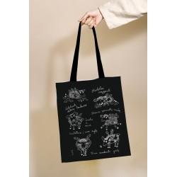 """Drobinis maišelis """"Purios ir sparnuotos avelės"""""""
