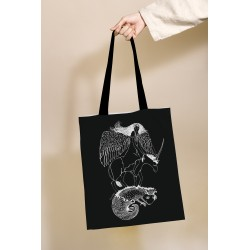 "Drobinis maišelis ""Angelas ir salamandra"""