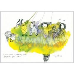 AMV67/134 Saulėtos dienos sutiktuvių šventė pražydusios gėlės žiede