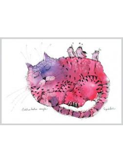 AMV68/134 Violetinio katino ramybė