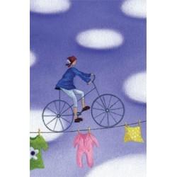 B8. Bloknotas su dviračiu