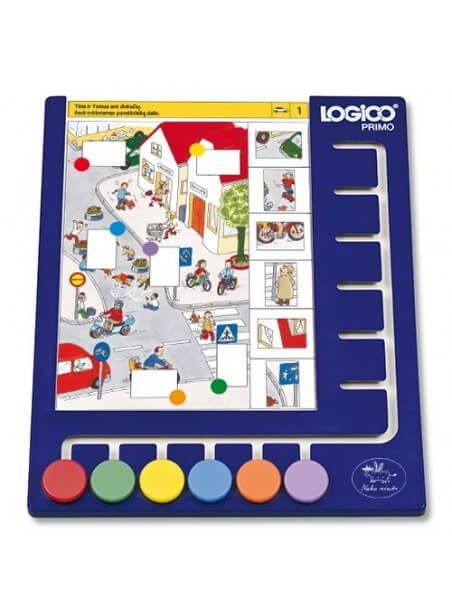 Lentelė LOGICO PRIMO žaidimams