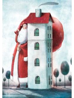 AM256/394 Kalėdinis atvirukas