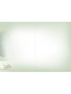 AM227/394 Kalėdinis atvirukas