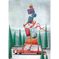 AM270/394 Kalėdinis atvirukas