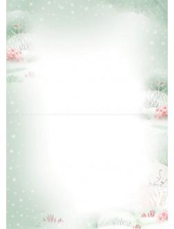 AM268/394 Kalėdinis atvirukas