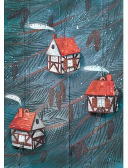 AM269/394 Kalėdinis atvirukas