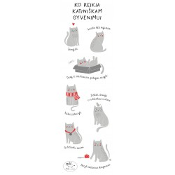 Skirtukas knygai su receptu