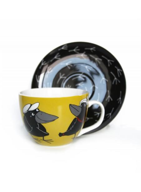 Kapučino kavos puodelis Varnos