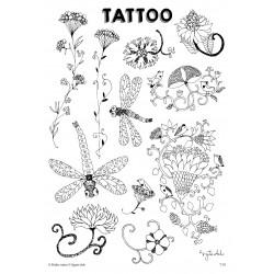 T1. Laikinos tatuiruotės su Sigutės Ach piešiniais