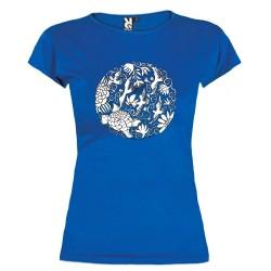 Marškinėliai merginoms Mandala (S)