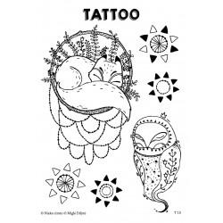 T15. Laikinos tatuiruotės su Miglės Dilytės piešiniais