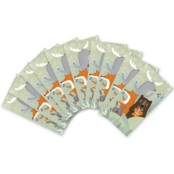 MUK138. Mažų užrašų kortelių rinkinukas