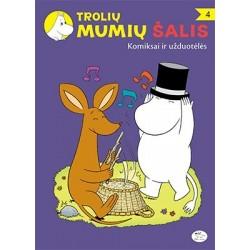 Trolių Mumių šalis: Komiksai ir užduotėlės 4