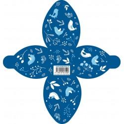D03. Mėlyna dovanų dėžutė