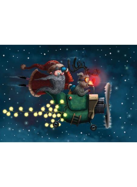 AM292/394 Kalėdinis atvirukas