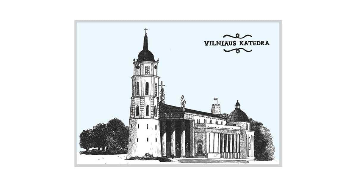 AMV203 Vilniaus katedra