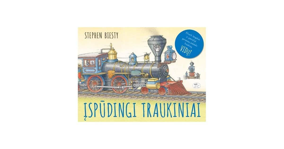 Įspūdingi traukiniai