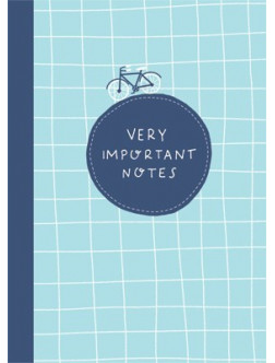 "B24. Bloknotas ""Very important notes"""