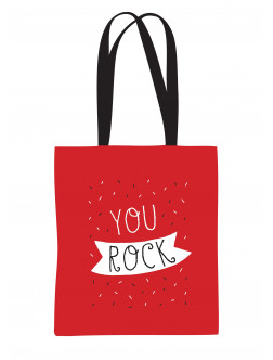 Drobinis maišelis You rock