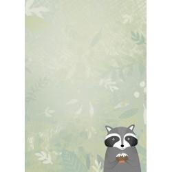 Bloknotas su miško žvėreliais