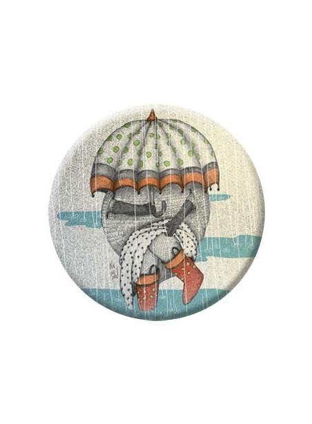 VD16 Veidrodėlis su ponia lietuje