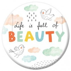 "VD22 Veidrodėlis ""Life is full of beauty"""