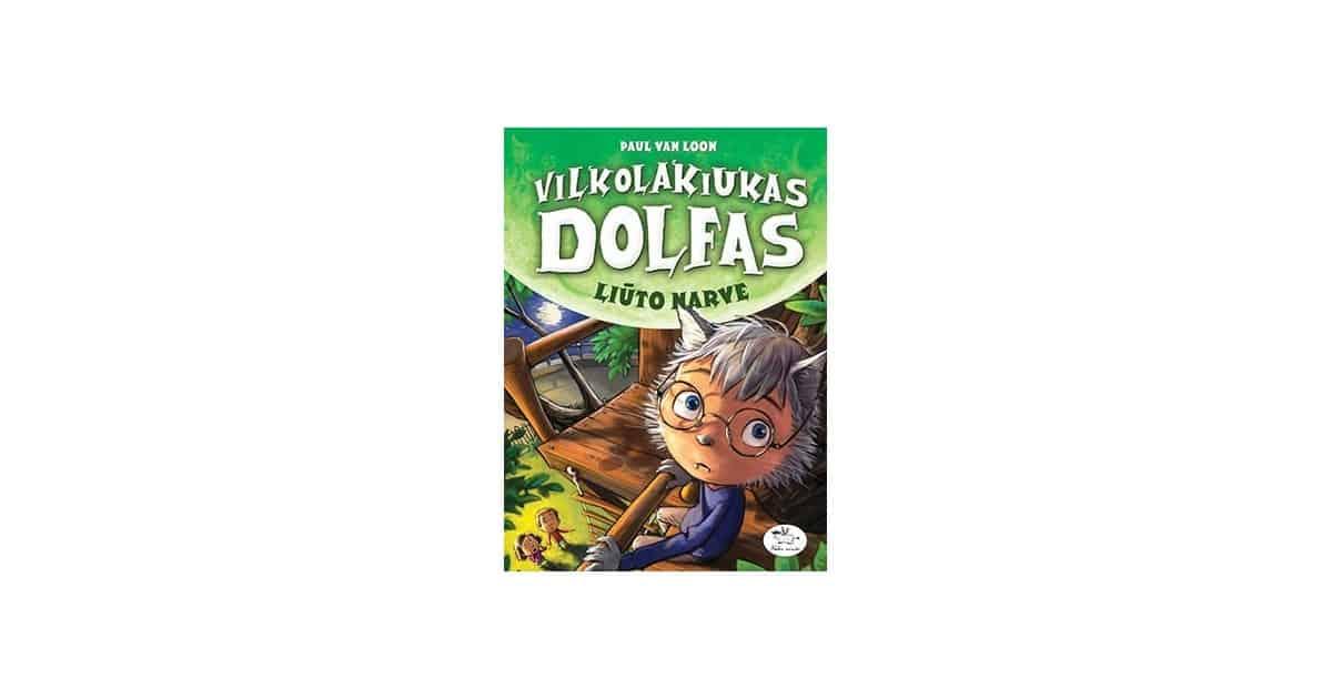 Vilkolakiukas Dolfas. Vilkolakių paslaptys (6)
