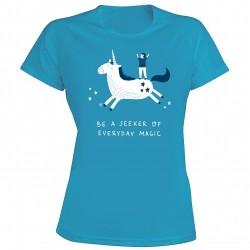 """Marškinėliai merginoms """"Magijos ieškotojas"""" (S)"""
