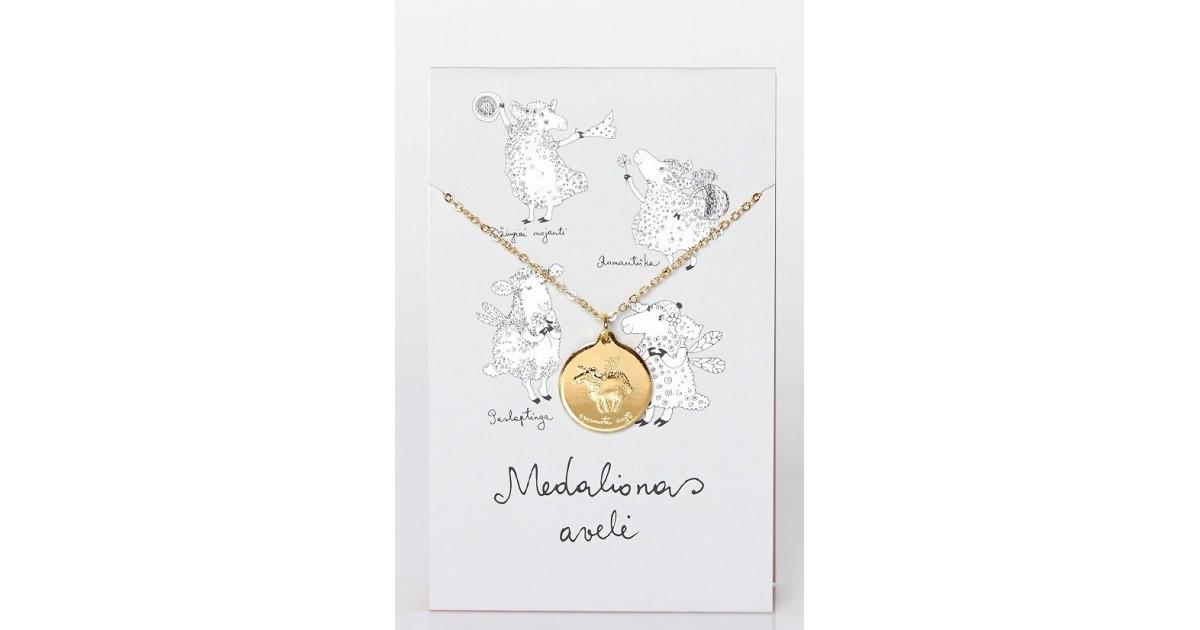 Medalionas Avelė